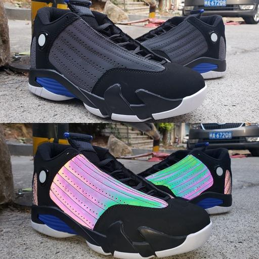 2020 new arrival jumpman xiv 14 mens basketball shoes 14s 3m chameleon training sports sneakers baskets trainers zapatos chaussures size 13