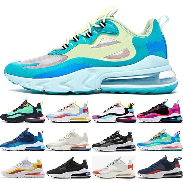 top popular wholesale react 27c mens running shoes Trainers BAUHAUS HYPER JADE Orange grey OPTICAL fashion disigner trainer breathable sports sneakers 2019
