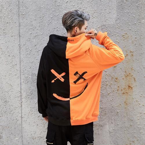 Noir et orange