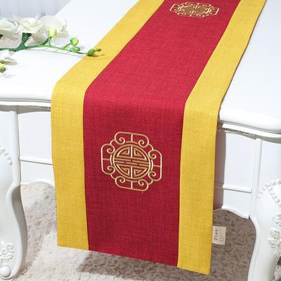 300x33 см длиной новая вышивка радостный рождественский стол Бегун хлопок белье китайский этнический ужин скатерть старинные кровати бегуны