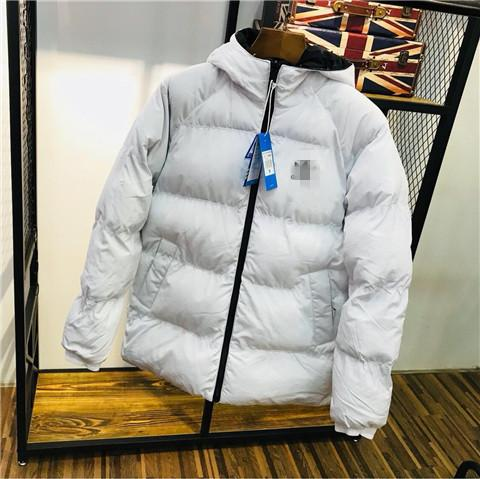 Brand Double-Sided Herren Kapuzenjacken Winter Designer Sport Parkas Down Windbreaker Mantel Gesteppte Dicke High Street Fashion B100035L