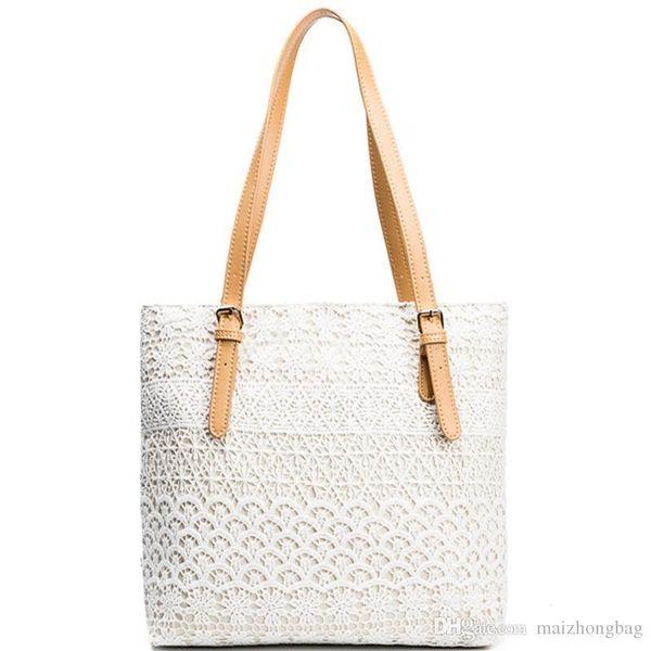 Lady Shoulder Hand Bag New Vogue Lace Shopping Bag Nice High Quality Canvas Tote Handbag High Quality Cheap Price