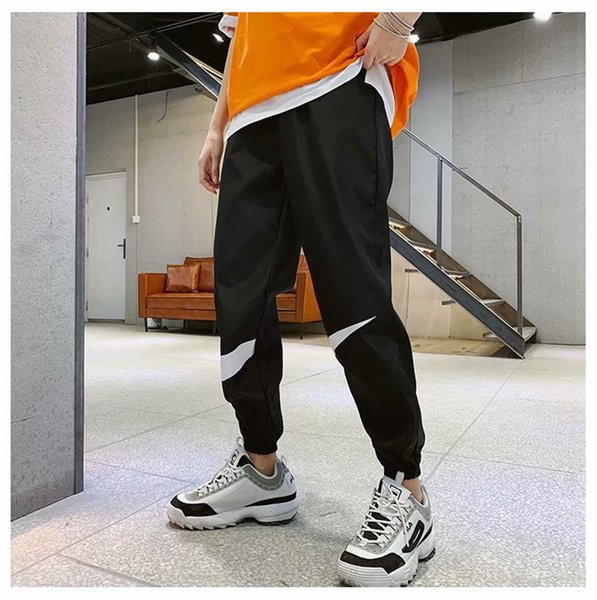 Mens Brand Sweatpants Brother Sports Pants Spring Autumn Running Causal Trousers Ninth Teenager Pencil Pants Male Clothing