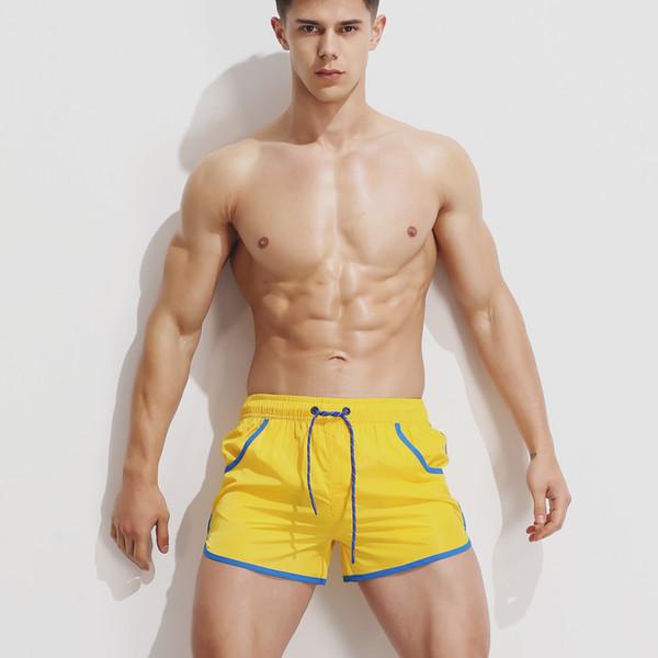 Yeni yaz rahat plaj pantolon, mayo, kaplıca şort ve rahat pantolonlar Çabuk kuruyan spor şortlar