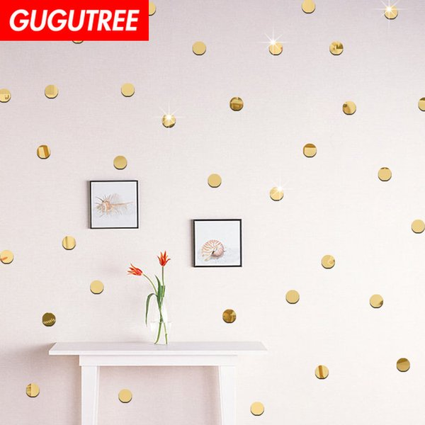Decorate Home 3D round cartoon mirror art wall sticker decoration Decals mural painting Removable Decor Wallpaper G-251