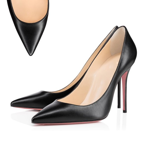 Pointed Toe Matt Black