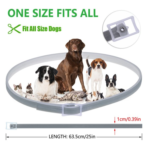 Dog Collar Flea And Tick Collar For Pet Anti-flea Mosquito Repellent Natural Deworming Essential Oils For Small Dogs Cat