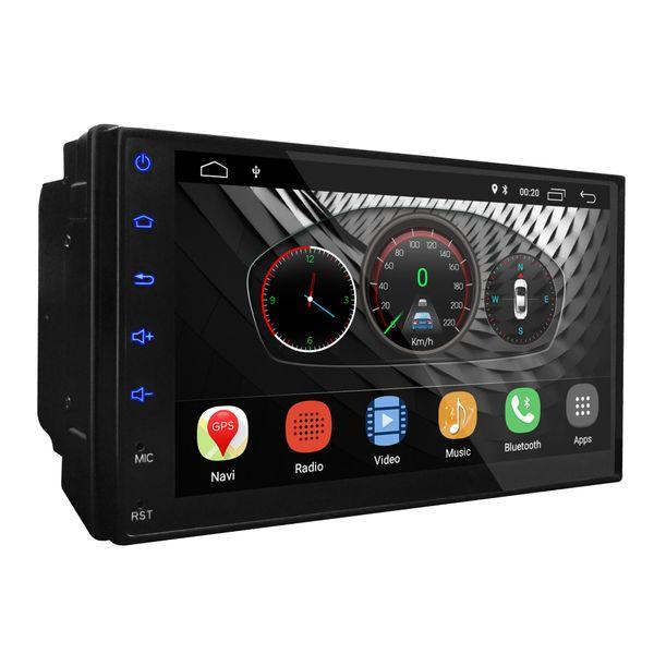 UGAR 7 pulgadas Android 8.1 2 GB RAM Unidad Universal de DVD Extendida para Coche 2Din Audio para Coche Indash Navegación GPS con Bluetooth WiFi