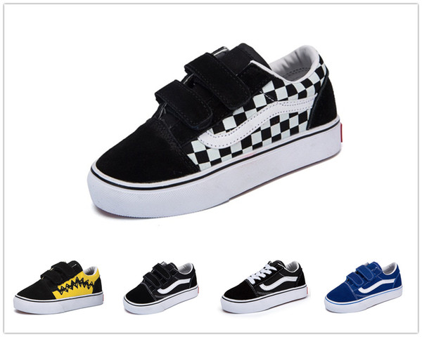 top popular Brand youth kid Revenge x Storm Black Children Casual Shoes Kendall Jenner Ian Connor babay Kids Old Skool boys girls Casual Shoes 2020