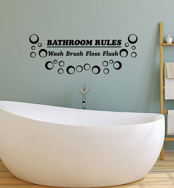 Bathroom wall sticker decoration, vinyl wall decal price shower room art decoration home bathroom exclusive sticker YS28