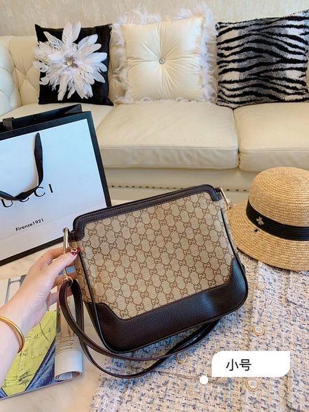 2019 Yaz Moda Tasarımcı Çanta Yeni Retro Bayanlar Tuval İki tonlu Dekorasyon Yumuşak Omuz Çantası Tasarımcı Çanta Kadınlar