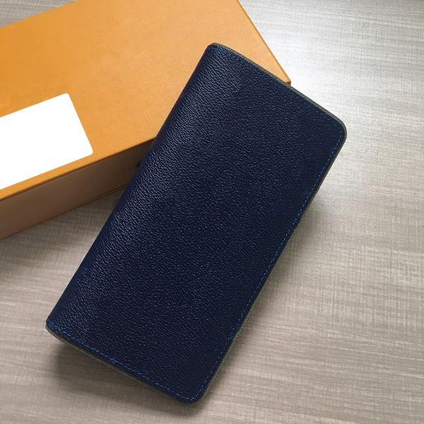 2019 Hot Wholesale designer wallet Lady Long Wallet Multicolor Designer Coin Purse Card Holder Original Box Men Women Classic Zipper Pocket
