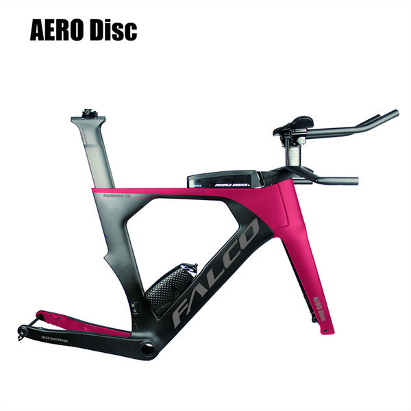 bicicleta 2019 AERO Bicicleta de triatlón de carbono 48/52/54/56/58 cm Cuadro de carbono tt 1-1 / 2