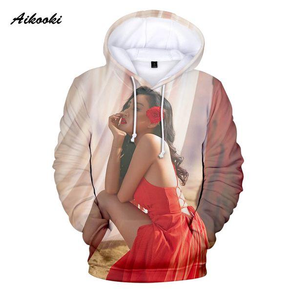 Aikooki K-POP MAMAMOO Hoodies Erkek Kadın Kapüşonlu Şarkıcılar Hoodie Erkek Tişörtü K Pop Grubu Ekibi MAMAMOO Hoody Polluver Streetwear