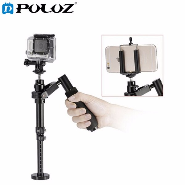 Freeshipping Handheld Camera Stabilizer for Steadicam for Iphone 6 / 7 plus Smartphone/ For GoPro HERO5 Session / HERO 5 / 4