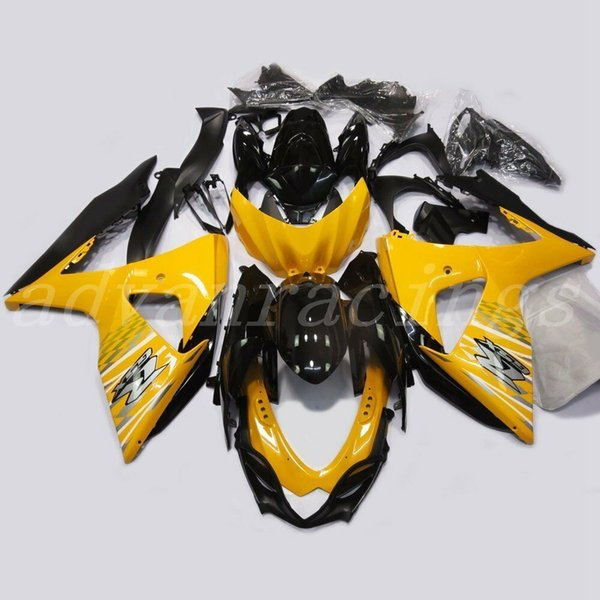 New ABS Injection Mold motorcycle fairings kit Fit for Suzuki GSXR1000 K9 2009-2016 09 10 11 16 GSX-R1000 L2 fairing kits cool yellow black