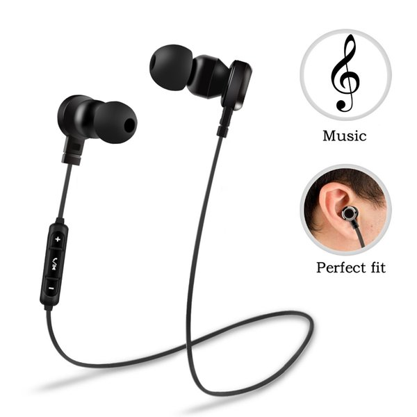 Brand Bluetooth Headphones Wireless Earphone With Mic Stereo Bass Sport Headset Earbuds For Mobile Phones Bluetooth Headset Lowest price