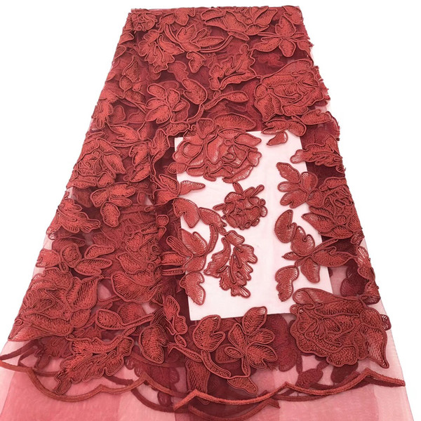 Hot sale swiss voile lace in switzerland high quality 2018 new arrivals african cotton lace fabric for Nigerian dress