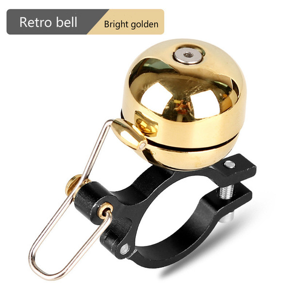 Retro Bike Bicycle Bell Horn Vintage Metal Handlebar Ring Sound Loud Alarm US #