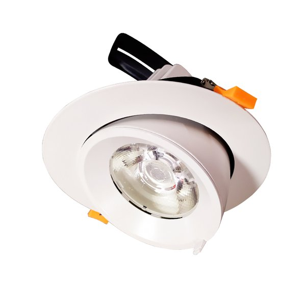 Allato Accent Lighting Recessed Adjustable LED Downlight 30W COB CRI90+ 3000K 4000K 6000K Ceiling Spotlight Fixture Wall Washer Lights