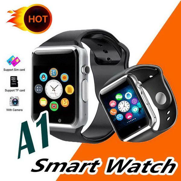 A1 Bluetooth Smart Watch Спортивные умные часы GSM SIM слот для TF-карты SmartWatch для iOS iPhone Huawei Samsung Android