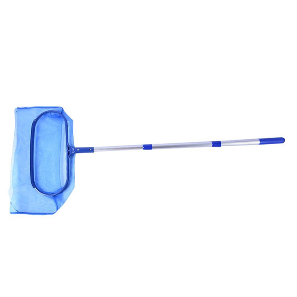 New Pool Leaf Cleaning Net Skimmer+ Pole Detachable For Spa Koi Fish Pond Lightweight Easy-to-use Cleaning Tool