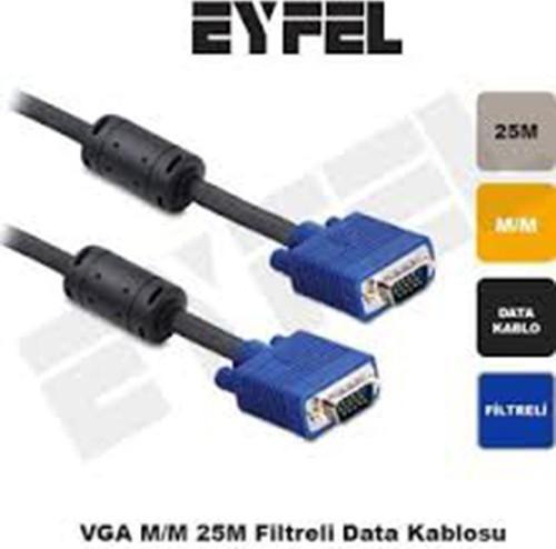 Eyfel Eiffel Vga125 VGA- (25 Meter) Display Kabel Schiff aus der Türkei HB-003998426