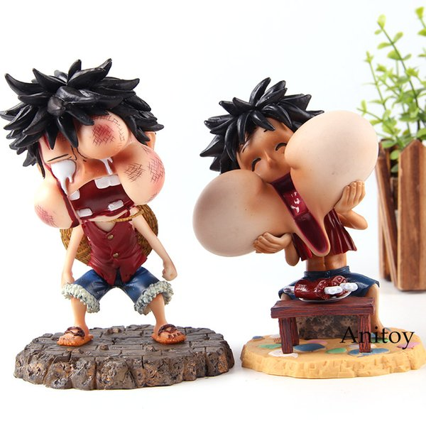 2019 One Piece Happy And Injured Monkey D Luffy Pvc One Piece Action Figure Luffy Statue Collection Model Kids Toys For Boys Gift From Anitoy Group