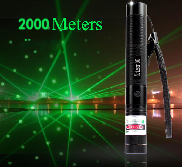 High Power Hunting Green Laser Pointer Tactical Flashlight Rechargeable Adjustable Focus Torch Light with Battery Charger