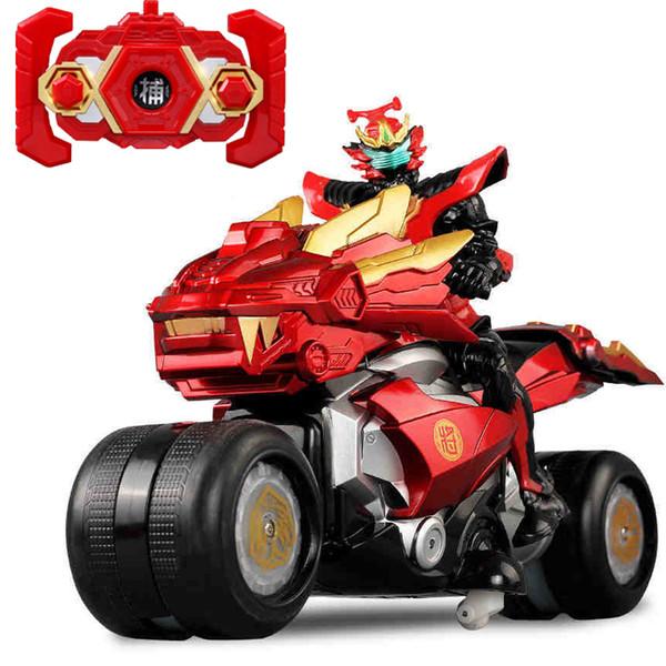 Armor Warrior Stunt Remote Control Moto Bambino Boy 36CM Oversize Charged Electric RC Veicolo galleggiante giocattolo modello