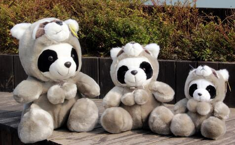 Sichuan Tourist Souvenirs Panda gray Face Change Giant Panda Doll Plush toy gift Crafts home statues