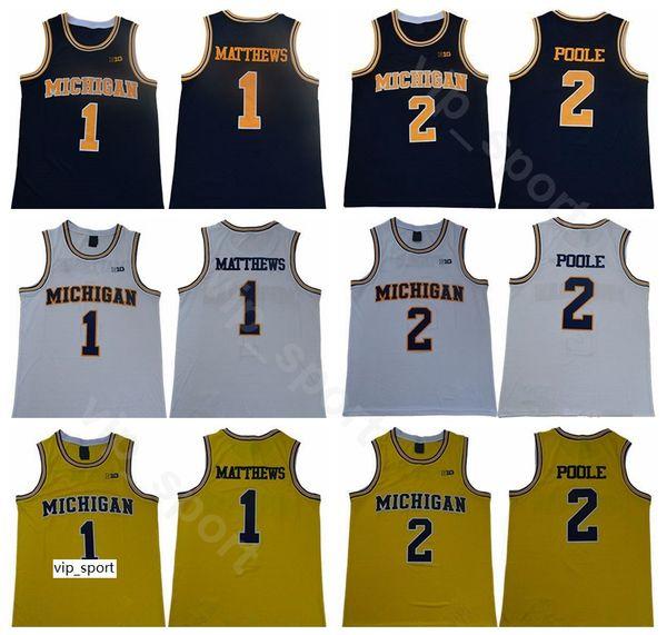 Michigan Wolverines College 5 Jalen Rose 41 Glen Rice 25 Juwan Howard 1 Charles Matthews 2 Jorda Poole Chris Webber 4 Basketball Jersey