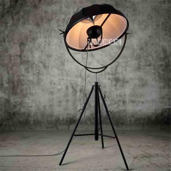 Großhandel YKX109 Vintage Industrial Style Nordic Art Stehlampe Wohnzimmer  Schlafzimmer Minimalistischen Kreative Stativ Stehlampe 110 220 V 65 CM Von  ...