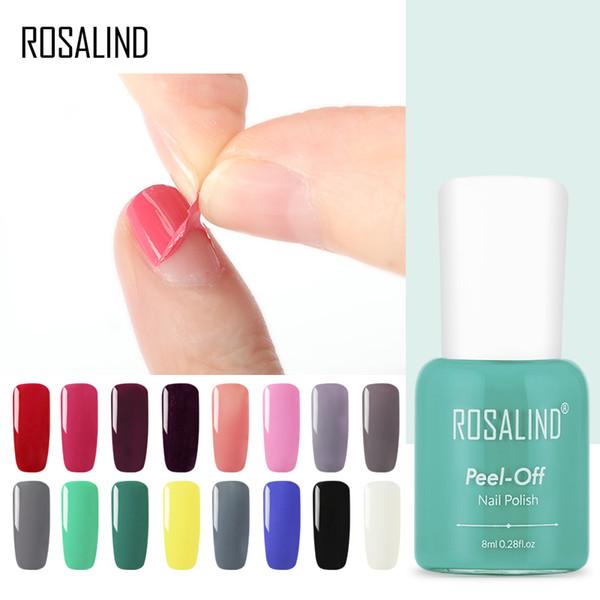ROSALIND Gel Nail Polish 8ml Gel Varnishes For Nail Art Designed Top Base Coat Primer Peel off Soak Off Lacquer