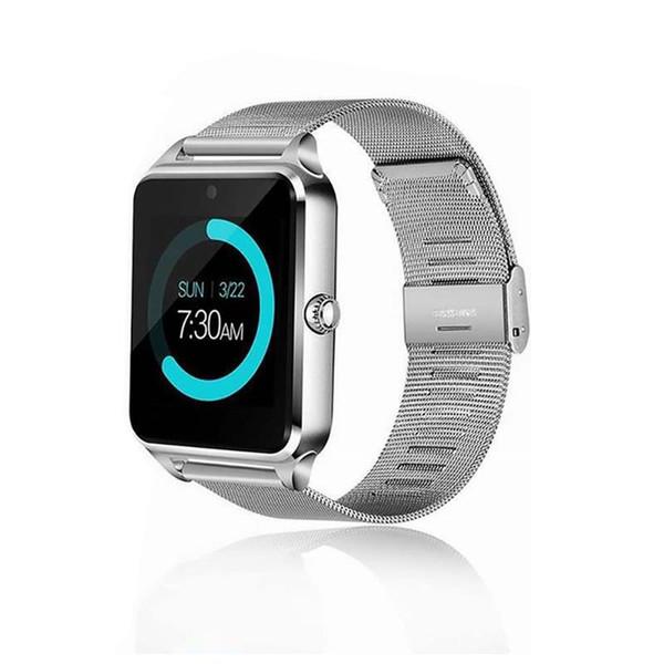 Горячий Фитнес-Браслет Bluetooth Смарт Часы-Телефон Z60 Умные часы для IOS Android