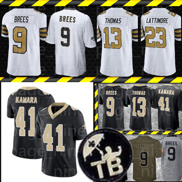 buy popular bffac 74344 2019 Mens New Orleans Saints Jersey 9 Drew Brees 41 Alvin Kamara 13 Michael  Thomas 7 Taysom Hill 23 Marshon Lattimore Jerseys From Page_nine, $32.8 |  ...