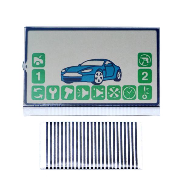 Russie Version A92 Écran Lcd Câble Flexible à distance pour Starline A92 télécommande lcd Zebra Stripes Livraison gratuite voiture