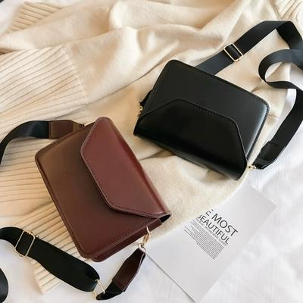 Big sale Vintage bags women fashion simple commute briefcase new small square bag wild shoulder Messenger bag multi-function