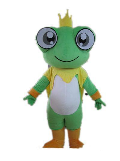 2018 Hot sale Good vision and good Ventilation a big eyes frog mascot costume for adult to wear