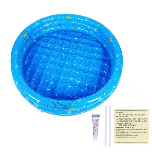 Inflatable Children Swimming Pool Baby Portable Outdoor Children Crocks Basin Bathtub Swimming Bathing Pools