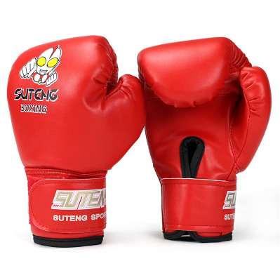 Hot sale 1 Pair Kids Gift Children Kickboxing Kick Box Training Punching Sandbag Sports Fighting Gloves MMA Boxing Glove