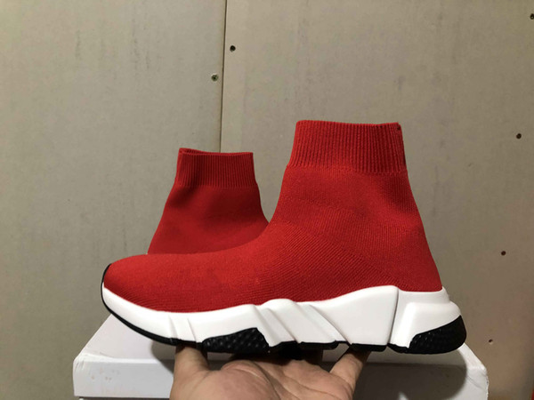 Дешевые кроссовки Дизайнерская обувь Triple s Носки обувь для мужчин, женщин, туфли с