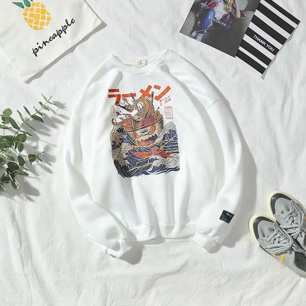 Comércio Exterior Mens Outono e Inverno New euro-americana T-shirt branco dos homens inferior Sports Tide Jacket Marca