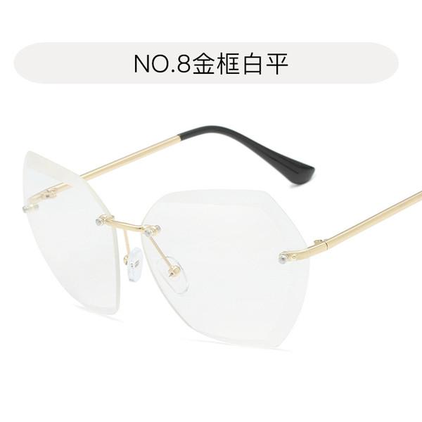 n ° 8 blanc