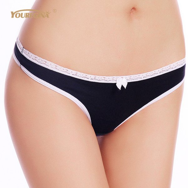 Youregina Women G String Thongs Low Rise Tanga Briefs Sexy Panties Ladies' Seamless Lingerie Female Underwear Strings 1 Piece C19042101