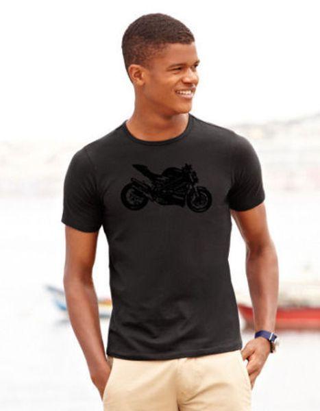 Ducati Shirt mit hochwertigem FlexDruck en versch. Größen Streetfighter 848 1098 Hombres Mujeres Unisex moda camiseta Envío Gratis