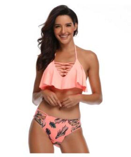 Swimsuit bikini rope solo flying Swimwear,Women Luxury Bandage Bikini Swimwear,top Cheap swimwear designed sport bikini,hot flexible stylish