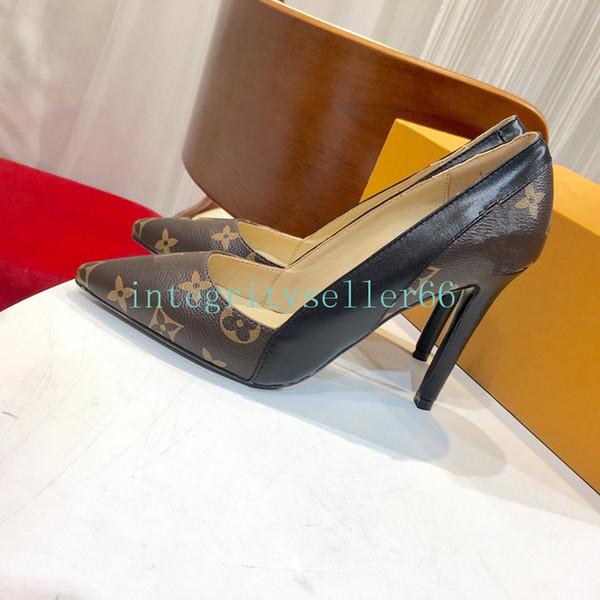 AATOP cuir véritable marque mode femme chaussures à talons hauts robe de soirée fille de mode sexy chaussures de mariage pointu