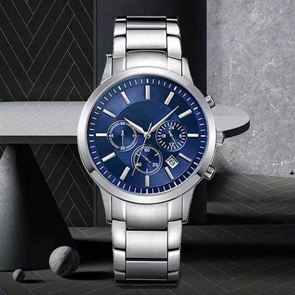 الزرقاء الفضة حزام الصلب