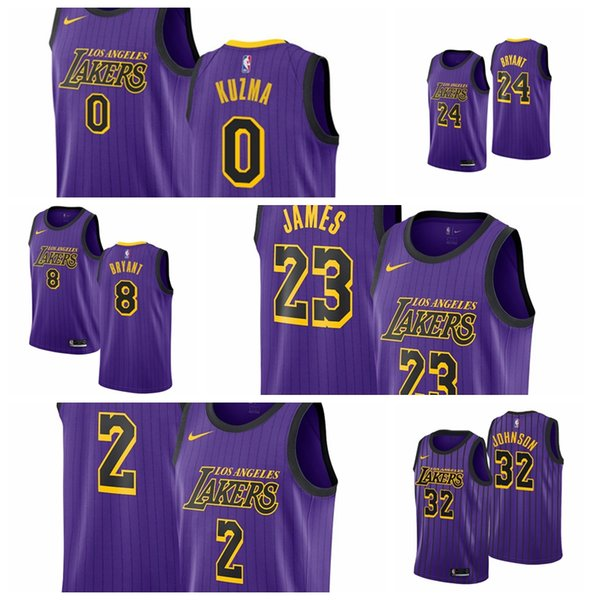 best sneakers 9a572 4a9c7 2019 23 LeBron James Los Angeles Men'S Lakerss Fanatics Branded 2018/19  Fast Break Jersey Statement Edition 2 Lonzo Balls 0 Kyle Kuzmas From ...